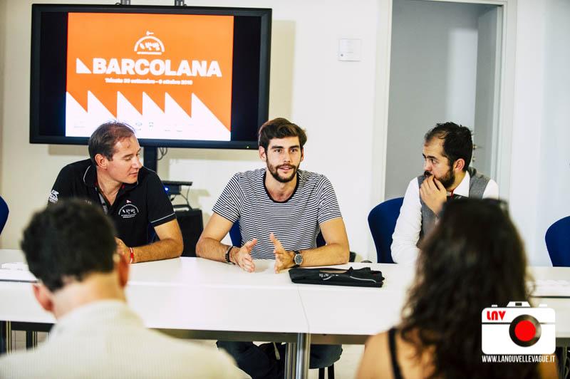 Conferenza Stampa di Alvaro Soler per la Barcolana 48 © Fabrizio Caperchi / PiquadroStudio