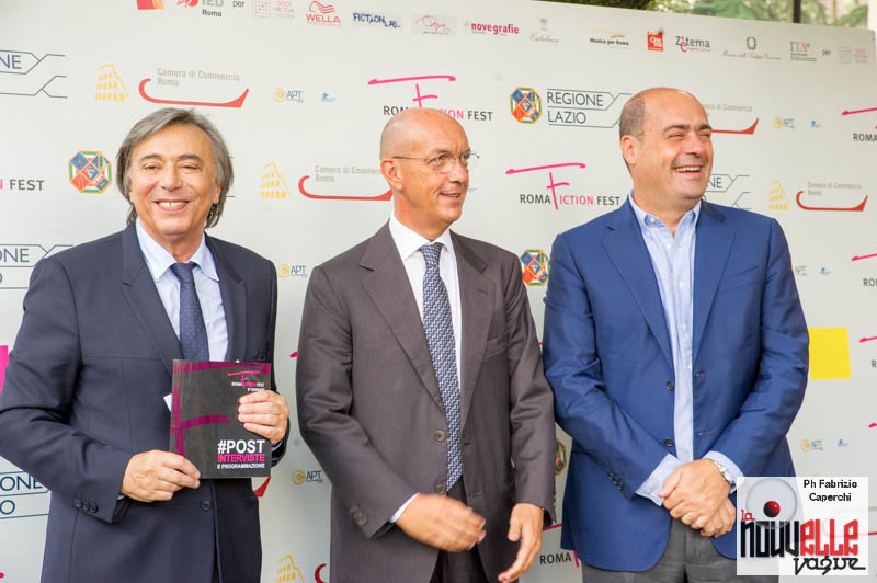 Roma Fiction Festival 2014 - Conferenza Stampa
