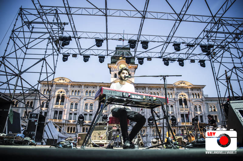 Ermal Meta in Piazza dell'Unità d'Italia, Trieste © Fabrizio Caperchi Photography / La Nouvelle Vague Magazine