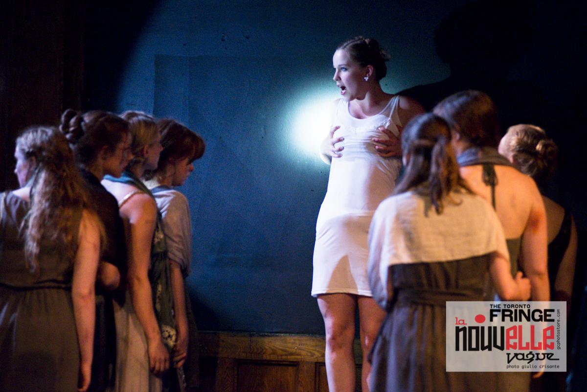 Toronto Fringe Festival 2014 : Euripide - Foto di Giulio Crisante