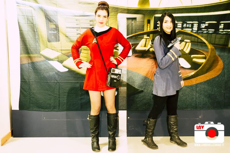 For the love of Spock - Adam Nimoy e Terry Farrel - Foto di F.Caperchi
