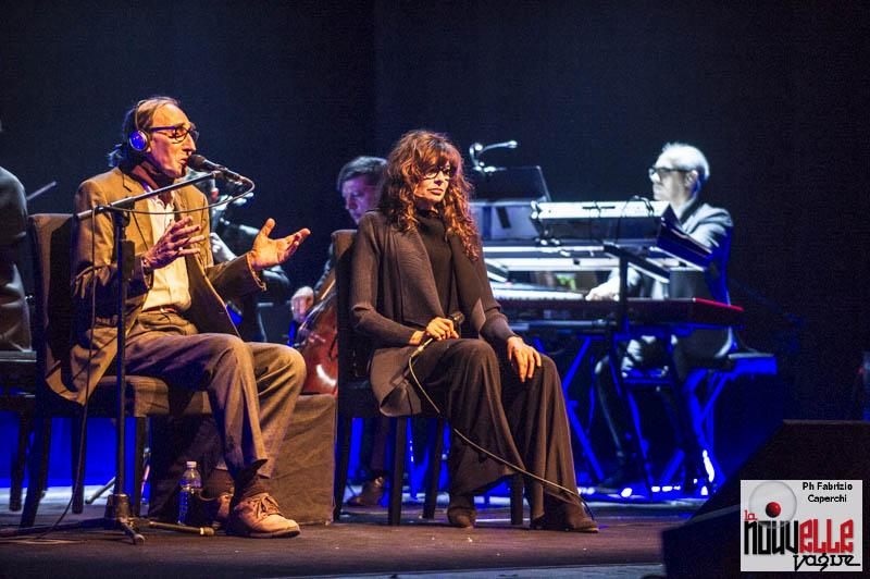 Franco Battiato & Alice - Foto di Fabrizio Caperchi