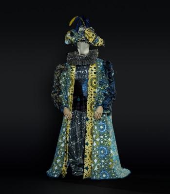4-Il principe felice di Mannino, 1987. Costume di Luzzati per Il cerimoniere (Rosatelli). Foto Francesco M. Colombo