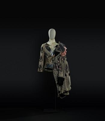 7-Lo schiaccianoci di Cajkovskij, 1969. Costume di Georgiadis per Drosselmeyer - Il principe (Nureyev). Foto Francesco M. Colombo