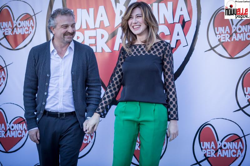 Giovanni Veronesi e Virginia Raffele - Una donna per amica - Foto di Luca Carlino