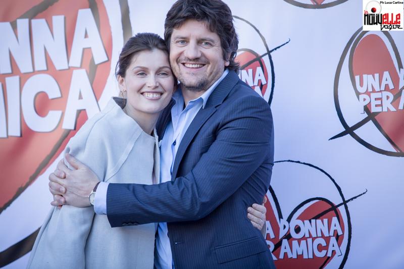 Fabio De Luigi  e Laetitia Casta - Una donna per amica - Foto di Luca Carlino