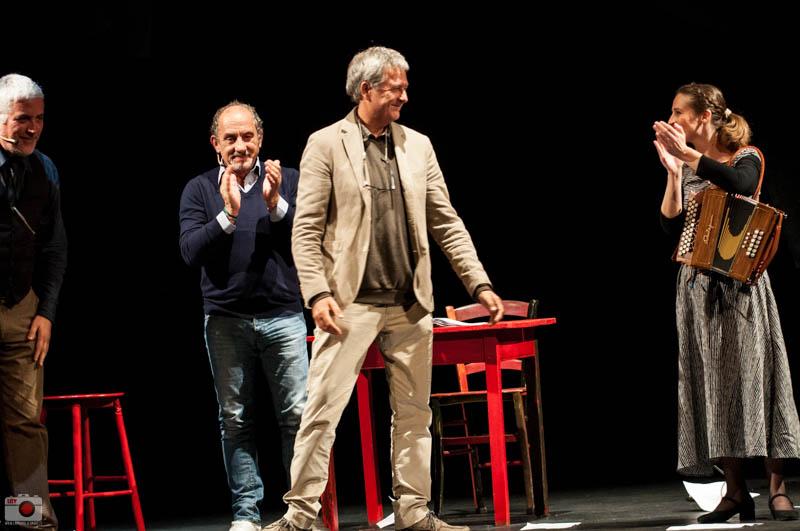 Mio padre votava Berlinguer al Teatro Miela - Foto di Linamaria Palumbo