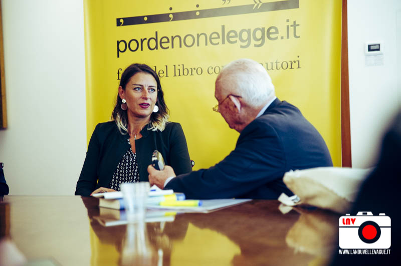 Federica Bosco a Pordenonelegge 2017 Pordenonelegge 2017