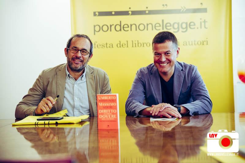 Umberto Ambrosoli e Massimo Sideri a Pordenonelegge 2017