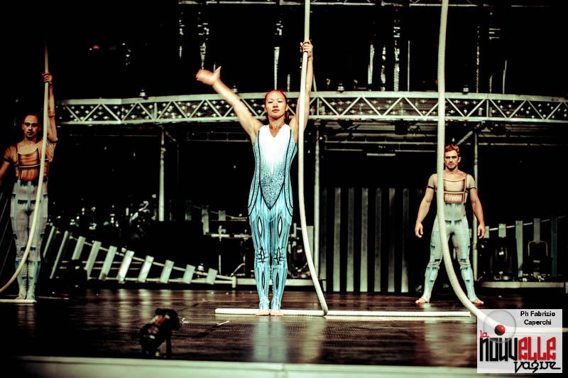 Quidam by Le Cirque du Soleil - Backstage