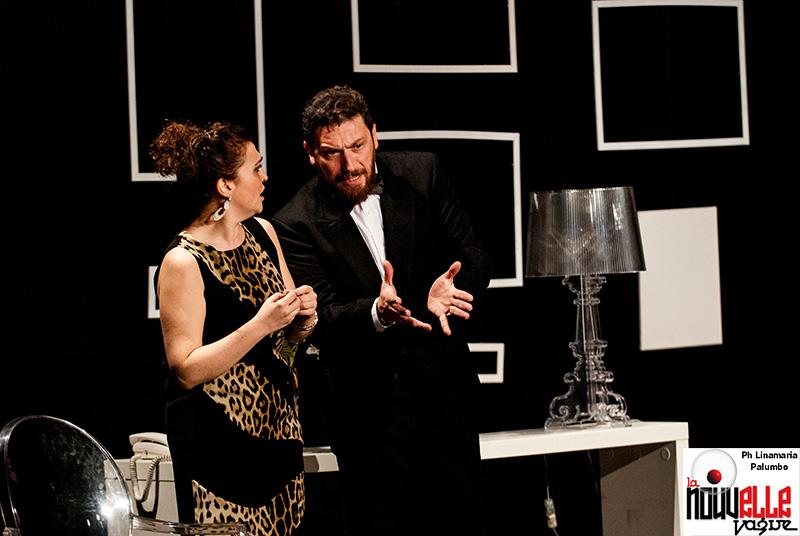 Rumors al Teatro Hamlet. Fotodi Linamaria Palumbo