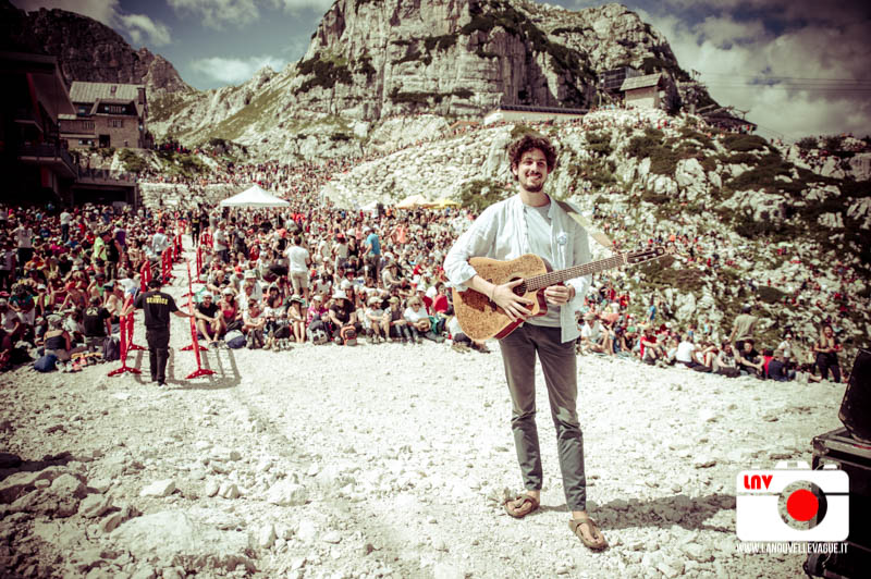Francesco Imbriaco al Rifugio Gilberti - No Borders Music Festival 2017