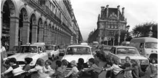 Les tabliers de la rue de Rivoli