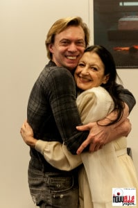 Carla Fracci e Vladimir Malakhov