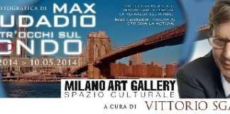Mostra di Max Laudadio alla Milano Art Gallery a cura di Vittorio Sgarbi
