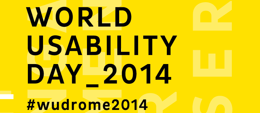 World Usability Day 2014