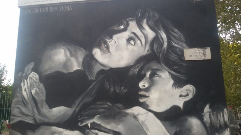 PRIMAVALLE: OMAGGIO A SCHIFANO DALLA STREET ART