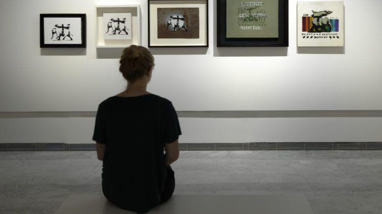Guerra Capitalismo e Libertà mostra Banksy