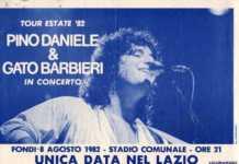 Pino Daniele Tour del 1982
