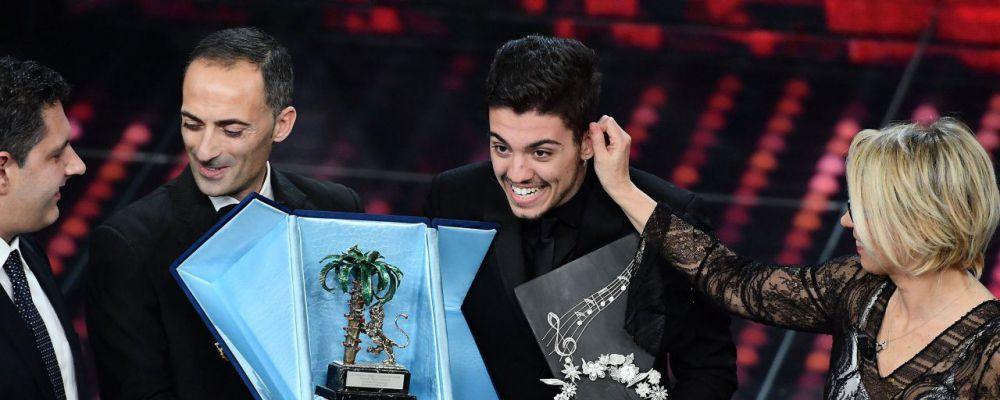 lele vincitore delle Nuove Proposte a Sanremo 2017