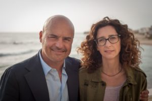 Luca Zingaretti e Teresa Mannino