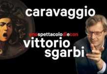 Caravaggio, uno spettacolo di e con Vittorio Sgarbi