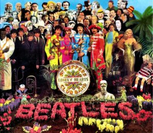 The Beatles : sgt pepper's lonely hearts club band