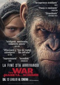 Arriva al cinema THE WAR- Il pianeta delle scimmie, nelle sale dal 13 luglio @ Cinema | Italia