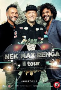 Nek, Max Pezzali e Francesco Renga insieme in tour