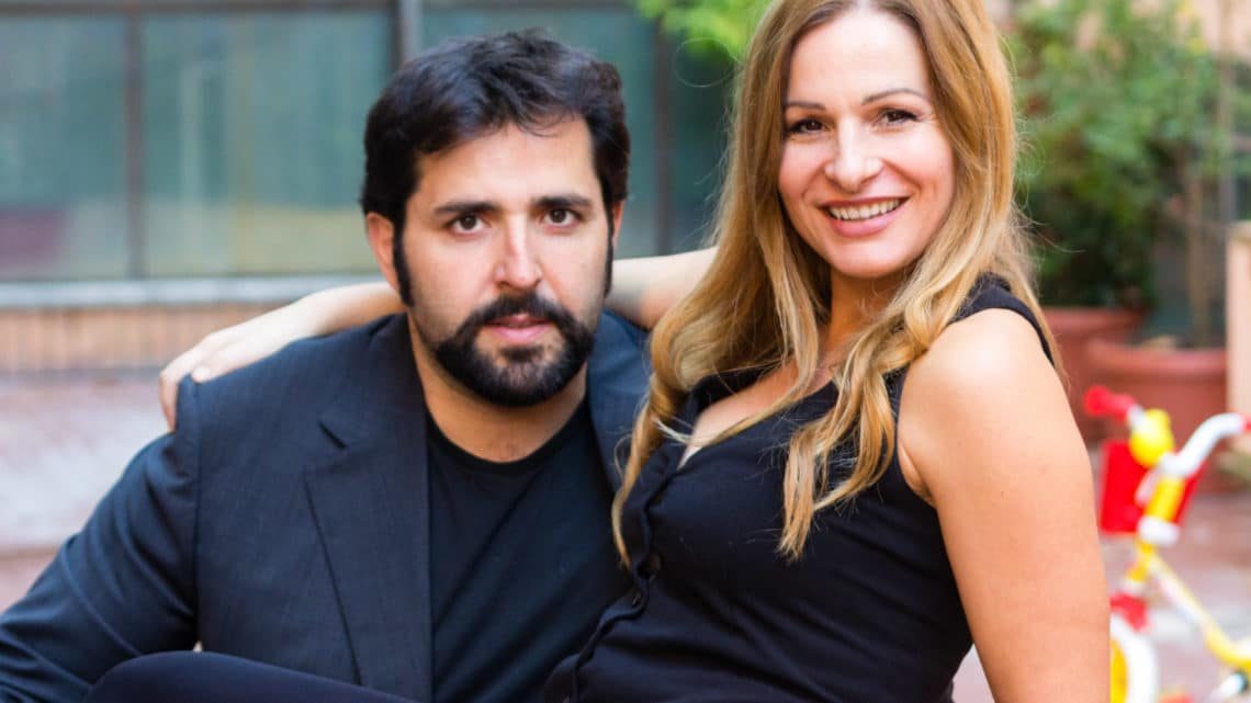 Uomini sull'orlo di una crisi di nervi: Federico Perrotta e Valentina Olla