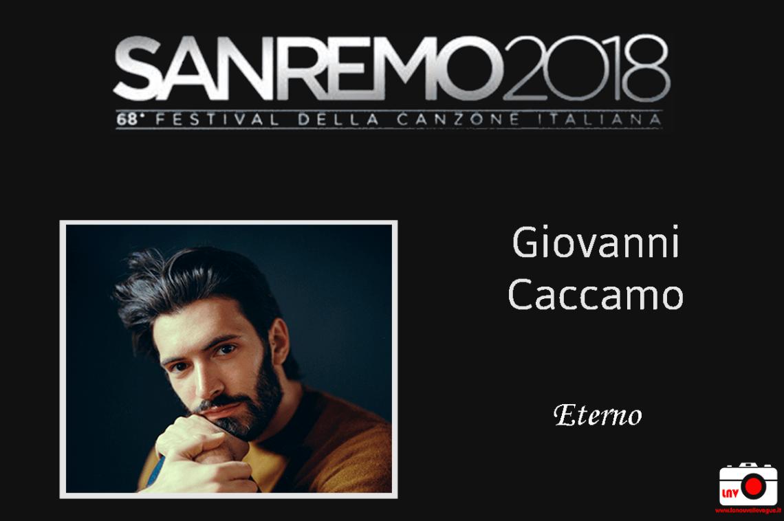 Festival di Sanremo 2018 - I Campioni - Giovanni Caccamo