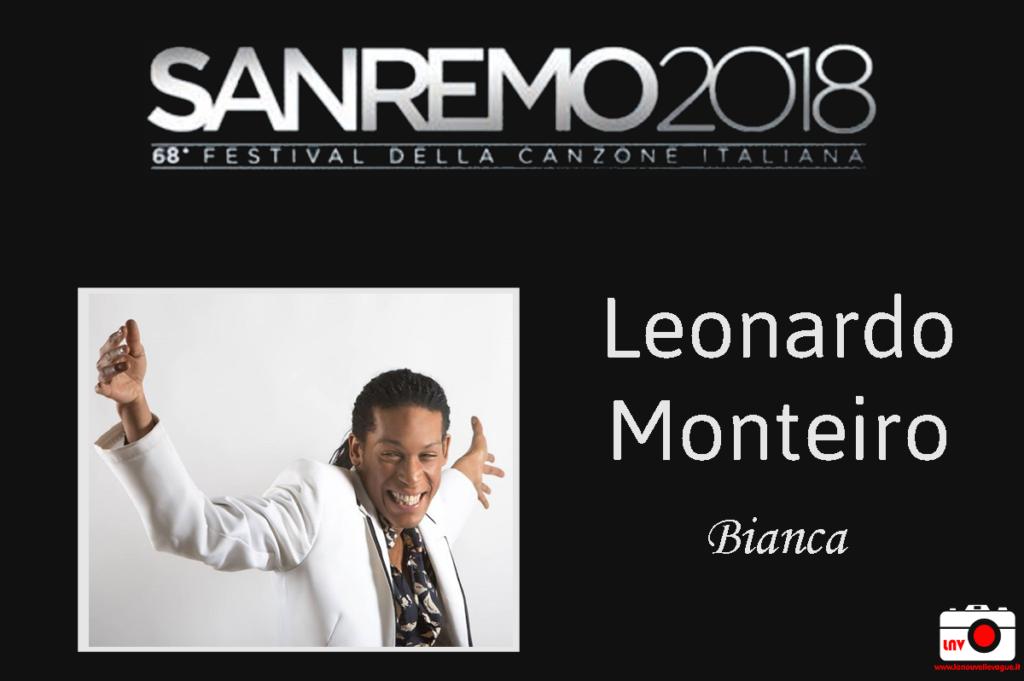 Festival di Sanremo 2018 - Nuove Proposte 2018 - Leonardo Monteiro