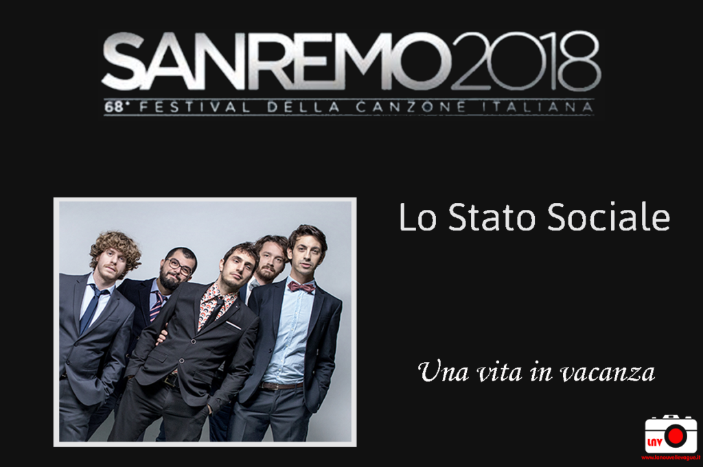 Festival di Sanremo 2018 - I Campioni - Lo Stato Sociale