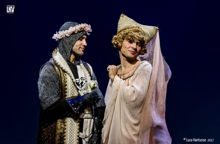 Spamalot al Teatro Nuovo di Milano - Le foto di Luca Vantusso