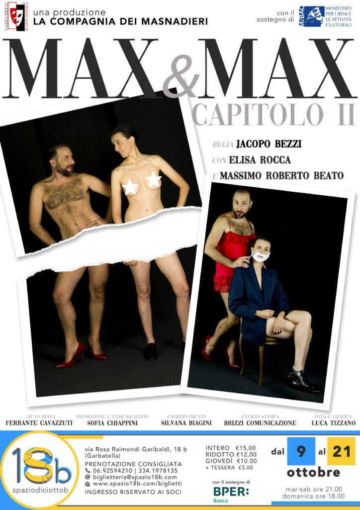 Max&Max - Locandina